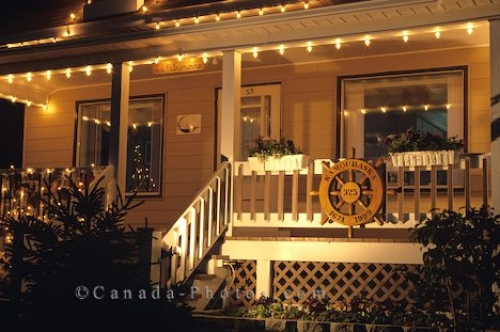 Photo: Christmas Lights Kamouraska