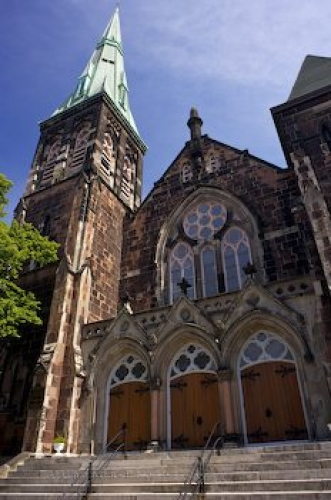 Photo: Church Design Downtown Saint John New Brunswick