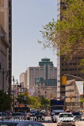 Photo: City Street Traffic Exchange District Winnipeg Manitoba