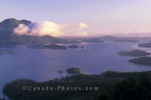 Photo: Clayoquot Sound Vancouver Island