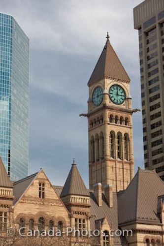 Photo: Toronto Old City Hall Clock Tower