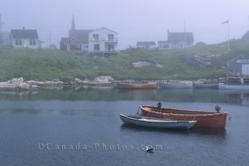 Photo: Coastal Fog Picture Lighthouse Route Nova Scotia