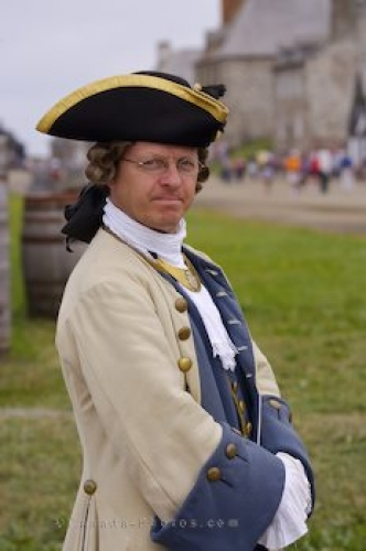 Photo: Commanding Officer Louisbourg Nova Scotia