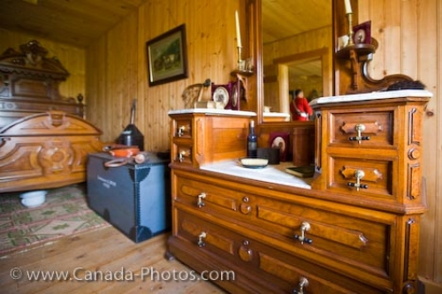 Photo: Commissioners Sleeping Quarters Fort Walsh National Historic Site
