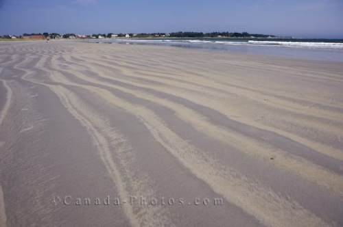 Photo: Crescent Beach Sand Patterns Nova Scotia