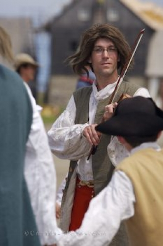 Photo: Dance Music Fortress Of Louisbourg Quay