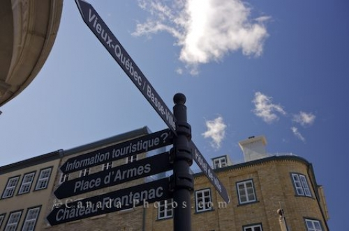 Photo: Directional Signs Quebec City