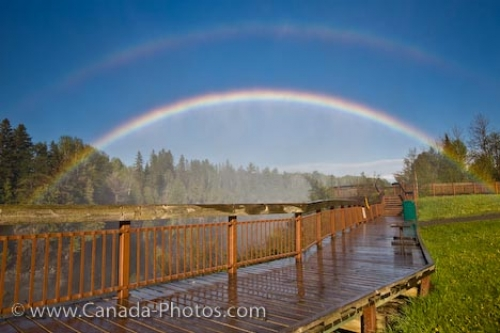 Photo: Double Rainbow At Kakabeka Falls