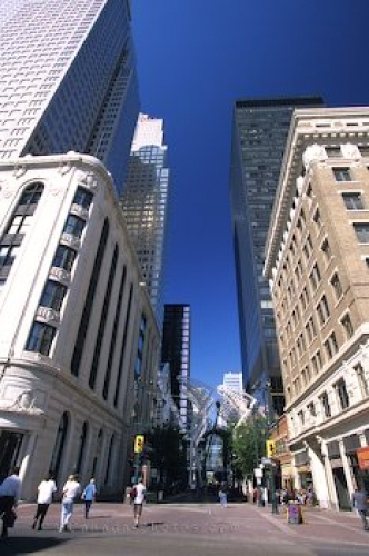 Photo: Downtown Calgary Stephen Avenue Walk