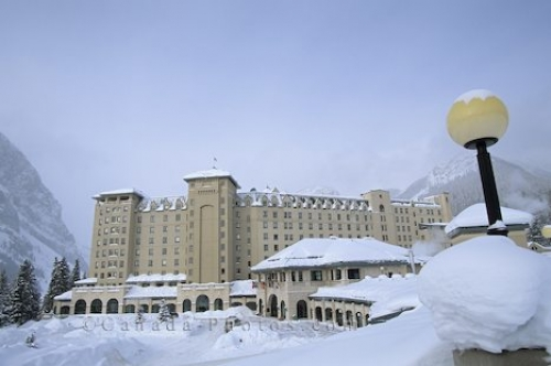 Photo: Fairmont Chateau Lake Louise Alberta