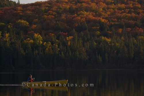 Photo: Fall Colors Rock Lake Ontario