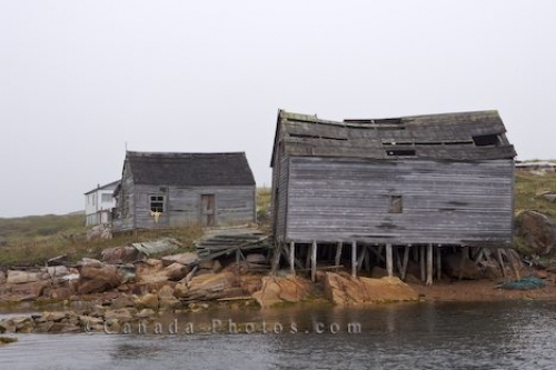 Photo: Fishing Huts Southern Labrador