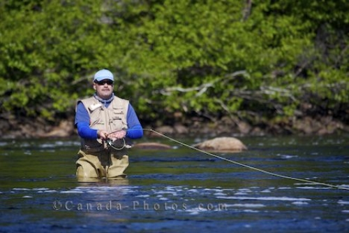 Photo: Fly Fishing White Bear River Falls