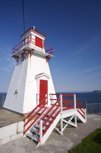 Photo: Fort Amherst Light Avalon Peninsula Newfoundland Labrador