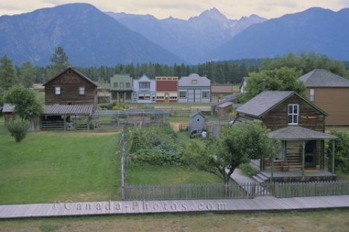 Photo: Fort Steele Heritage Town Fort Steele British Columbia Canada North America