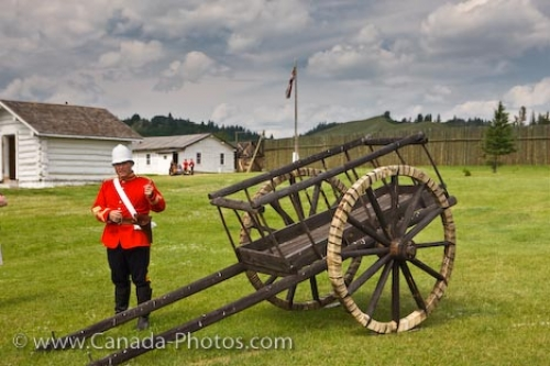 Photo: Fort Walsh North West Mounted Police Saskatchewan Canada
