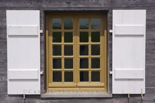 Photo: Fortress Of Louisbourg Windows Nova Scotia