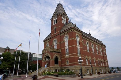 Photo: Fredericton City Hall New Brunswick Historic Building