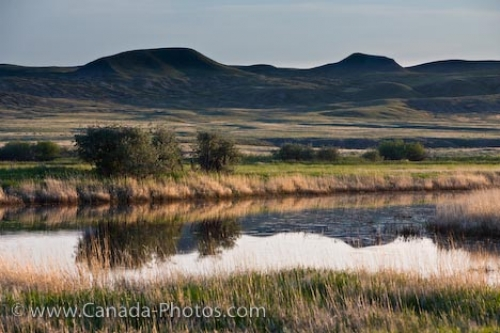 Photo: Frenchman River Valley Water Saskatchewan Canada