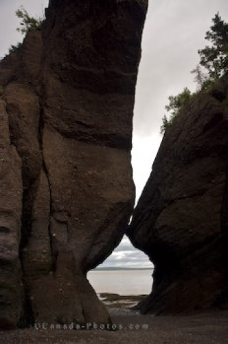 Photo: Fundy Coastal Drive Rock Formations New Brunswick