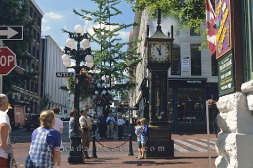 Photo: Gastown Steam Clock Vancouver British Columbia