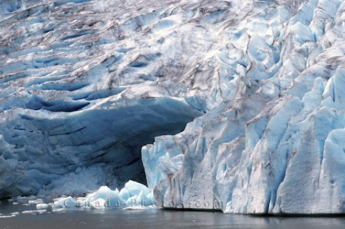 Photo: Glacier Ice Yukon Territory