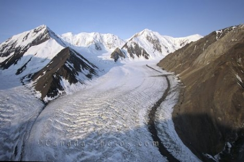 Photo: Glacier Kluane National Park