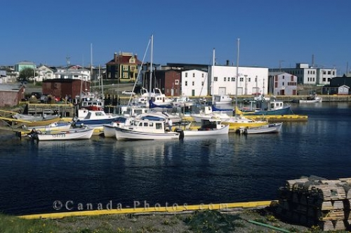 Photo: Grand Bank Harbour Newfoundland