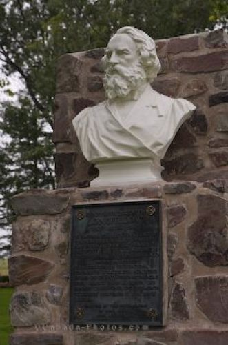 Photo: Grand Pre National Historic Site Statue Nova Scotia