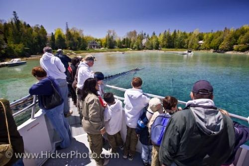 Photo: Great Blue Heron Boat Tours Fathom Five National Marine Park