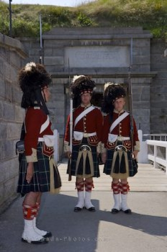 Photo: Halifax Citadel Guards Nova Scotia