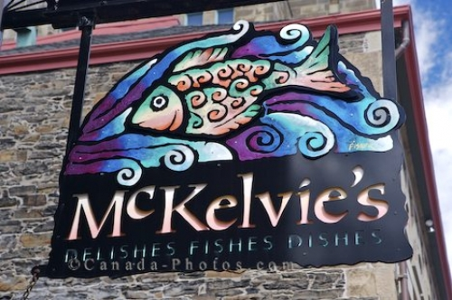 Photo: Downtown Halifax Restaurant Sign Nova Scotia