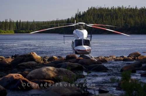Photo: Helicopter Flight Labrador