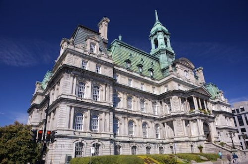 Photo: Historic Architecture City Hall Montreal Quebec