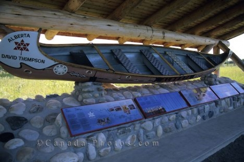 Photo: Historic Canoe Rocky Mountain