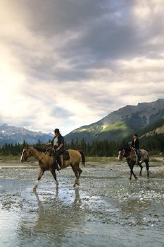 Photo: Horseriding Golden BC Holidays