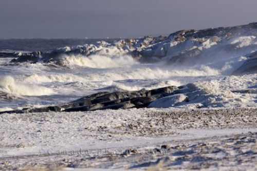 Photo: Hudson Bay Rugged Coastline Churchill Manitoba