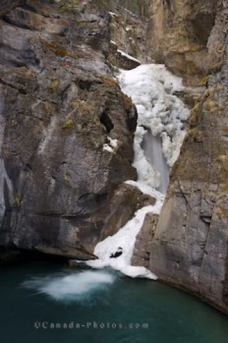 Photo: Ice Falls Johnston Canyon