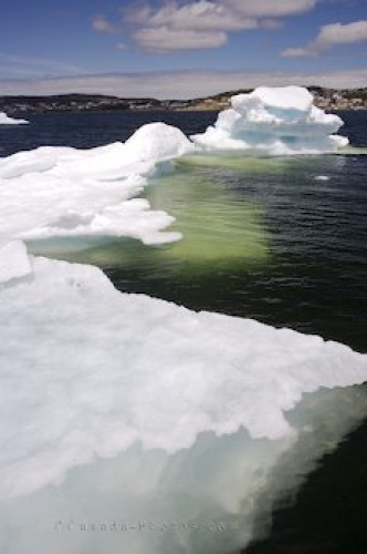 Photo: Ice Melt St Anthony Newfoundland