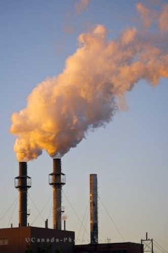 Photo: Industrial Plant Pollution Sault Ste Marie Ontario