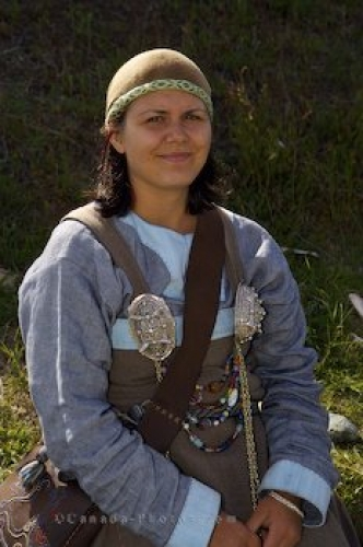 Photo: Interpreter Job L Anse Aux Meadows Newfoundland Canada