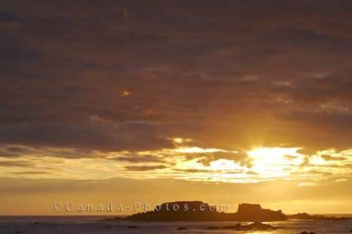 Photo: Rocky Island Sunset Newfoundland Labrador