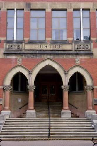 Photo: Justice Building Fredericton New Brunswick