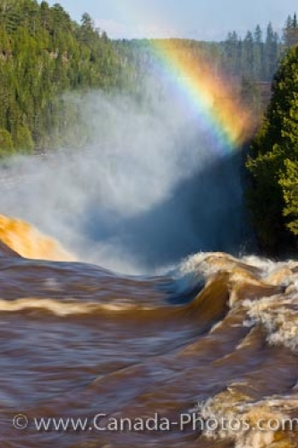 Photo: Kakabeka Falls Rainbow Northern Ontario