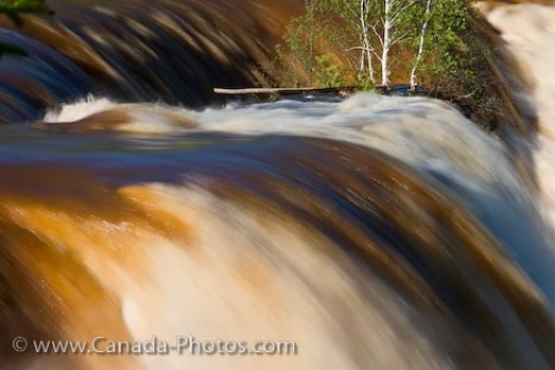 Photo: Kakebeka Falls During Spring Thunder Bay Ontario
