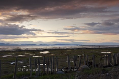 Photo: Kamouraska Sunset Quebec