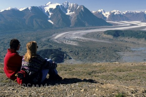 Photo: Kaskawulsh Glacier Scenery Yukon