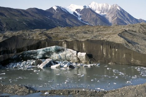 Photo: Kluane National Park Glacier Picture Yukon