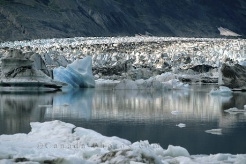 Photo: Kluane National Park Glacier Yukon Territories