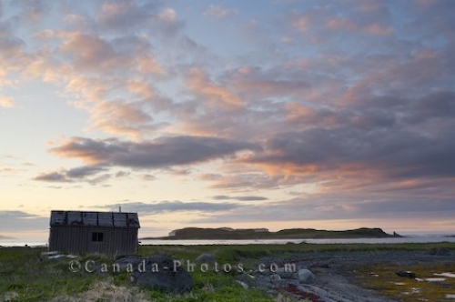 Photo: L Anse Aux Meadows Rustic Shed Newfoundland Labrador